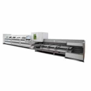 hvid og grå lasertube maskine fra ip maskiner