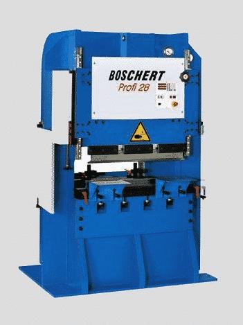 Blå maskine fra boschert