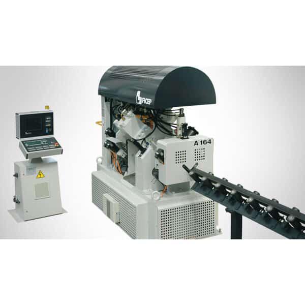 grå og sort maskine fra ficep fra ip maskiner