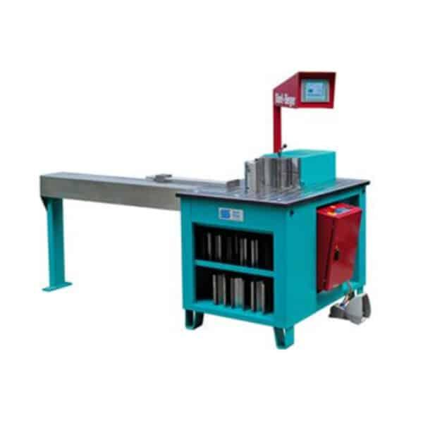 Turkis blå cnc maskine fra ip maskiner
