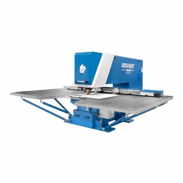 Blå og metal maskine fra bochert fra ip maskiner
