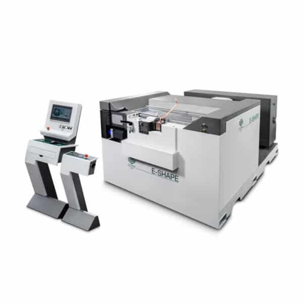 Grå e-shape maskine fra ip maskiner