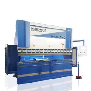 Blå maskine fra bochert ip maskiner