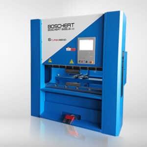 blå og grå maskine fra bochert fra ip maskiner