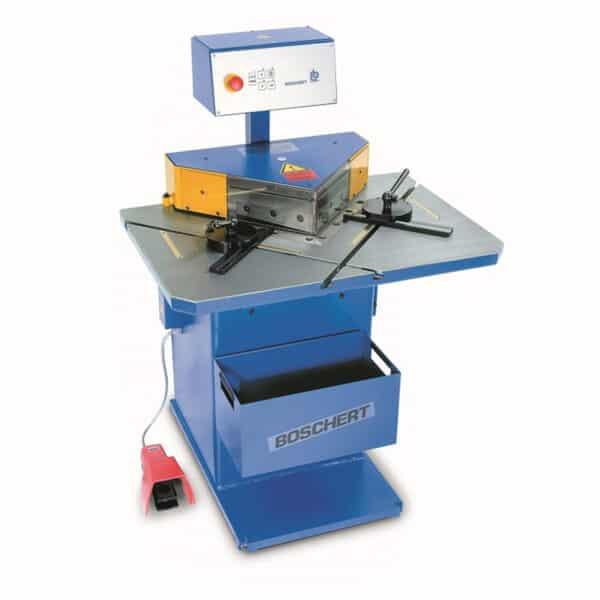 blå boschert maskine fra ip maskiner