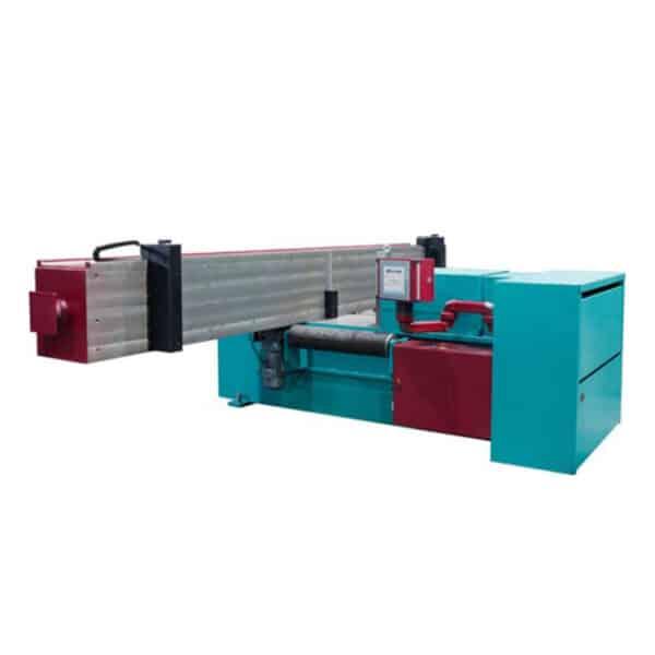 Rød og turkisblå maskine fra ip maskiner