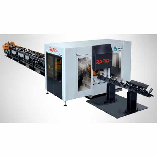 Gråhvid og sort rapid maskine fra ficep hos ip maskiner