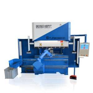 Boschert blå robot maskine
