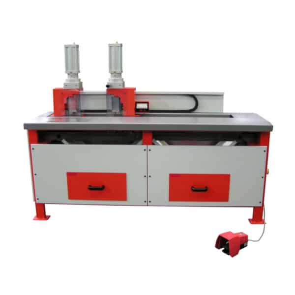 Rød og grå maskine fra ip maskiner