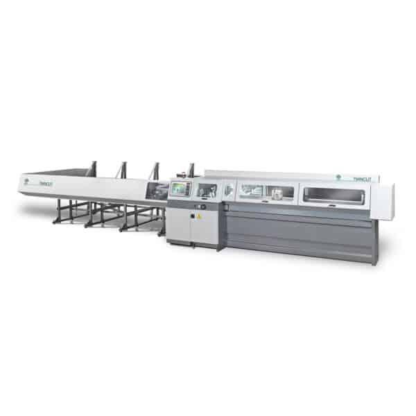 Hvid og grå twincut maskine fra ip maskiner
