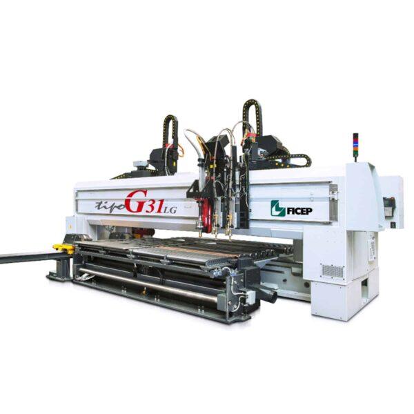 Hvid maskine fra ficep Ip maskiner