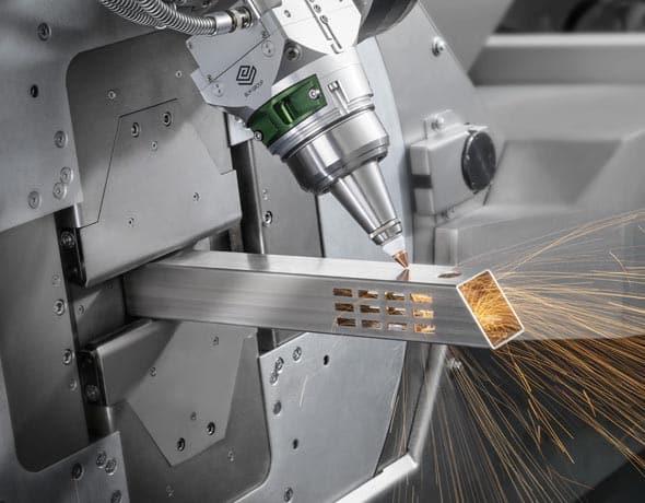 Laser tube skræring ip maskiner